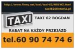 Taxi 62 Bogdan Karaś