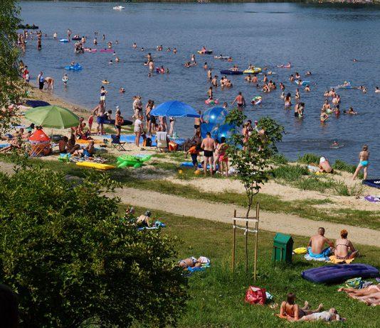 Sosina Jaworzno, plaża