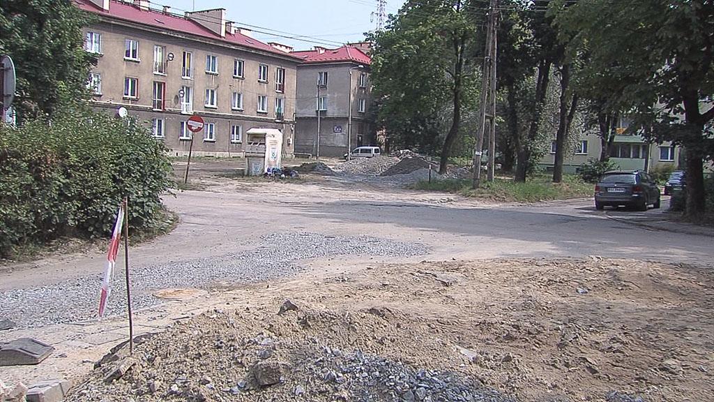 ulica Radosna Jaworzno, remont, Osiedle Stałe