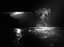 Kopalnia, górnicy przy pracy