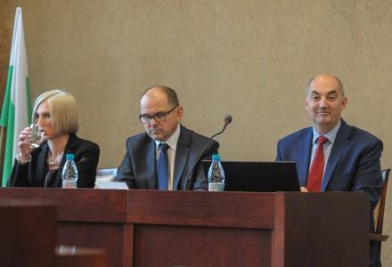 Paweł Silbert Tadeusz Kaczmarek Monika Bryl Sesja Rady Miejskiej 26.11.2015