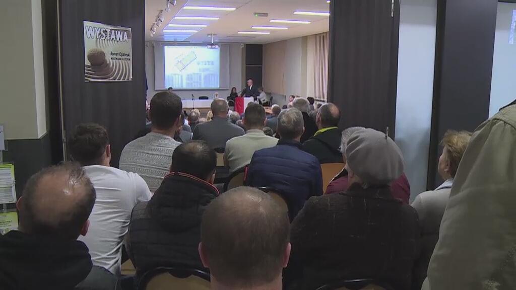 ZG Janina spotkanie z mieszkańcami Libiąża