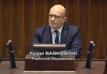 Paweł Bańkowski w Sejmie