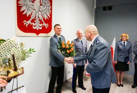 Mł. insp. Grzegorz Baczyński został nowym komendantem jaworznickiej policji.