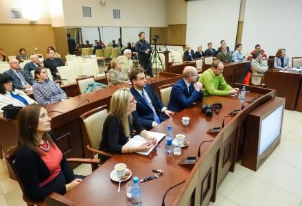 Dyskusja nad Jaworznickim Budżetem Obywatelskim.