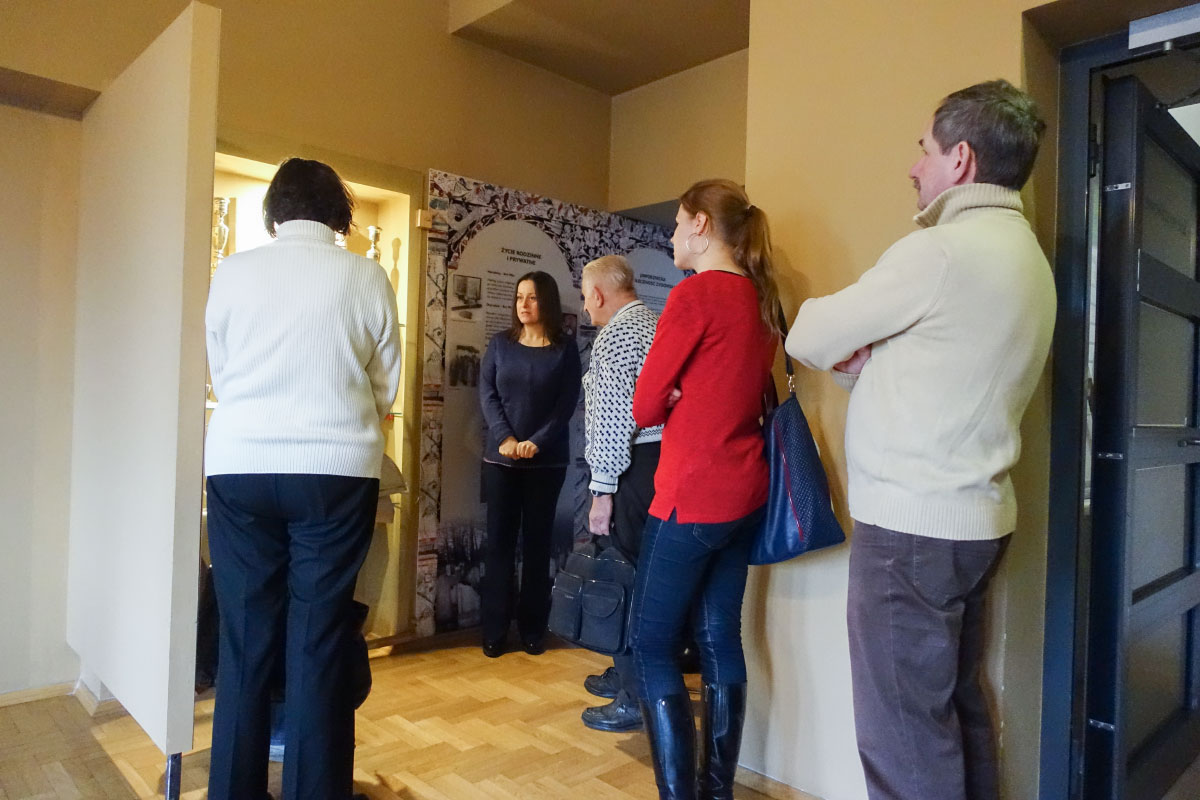 W Muzeum Miasta Jaworzna odbyłsię wykład poświęcony historii jaworznickich Żydów.
