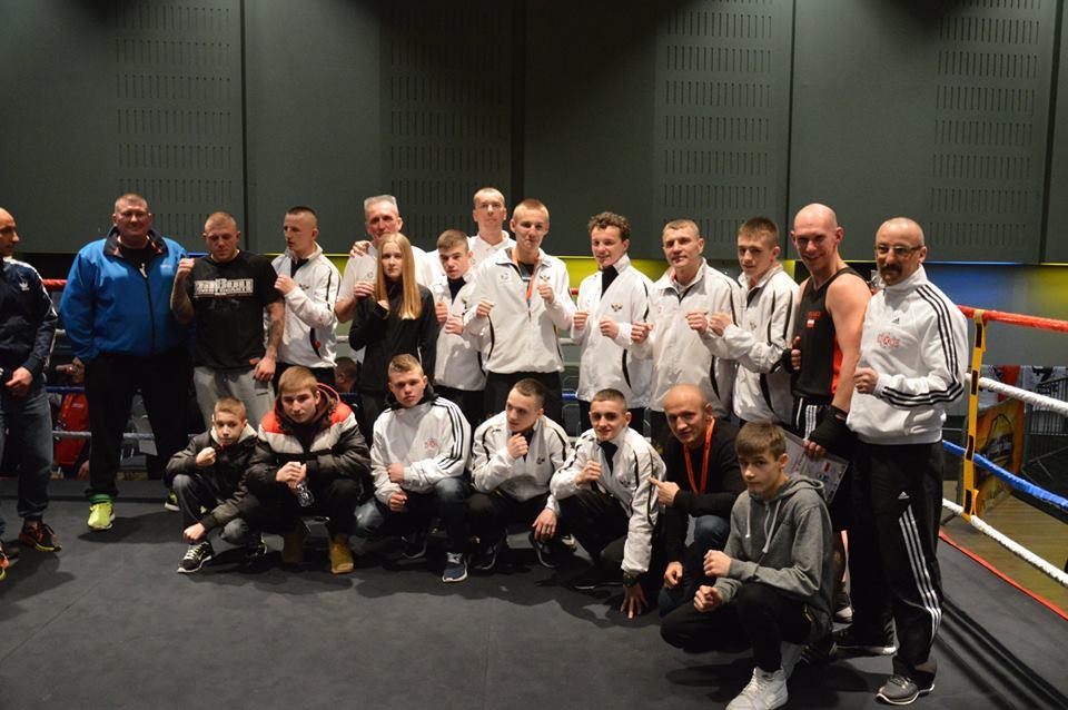 Jaworznicki Klub Bokserski Jawor Team walczył z reprezentacjąAnglii.