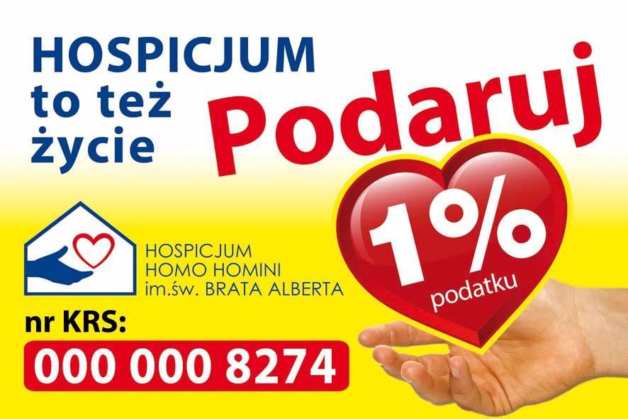 hospicjum 1%