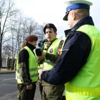 Uczniowie ZSP nr 2 uczyli się zawodu policjanta.