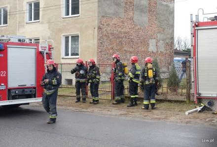 Fałszywy alarm pożarowy w Szczakowej na ul. Wolności.