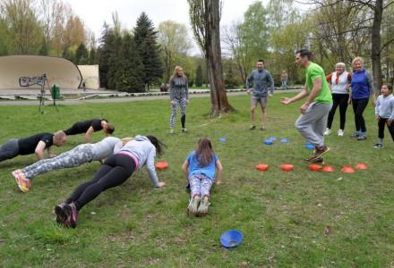 ćwiczenia w parku Lotników1