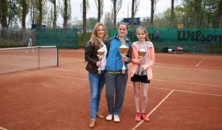 Pierwsza trójka w turnieju kobiet