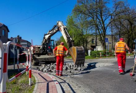 Rozpoczęto prace na ul. Jaworznickiej.