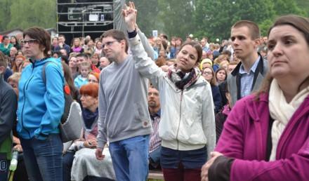 """Festiwal """"Bądź Jak Jezus"""" w Mysłowicach."""