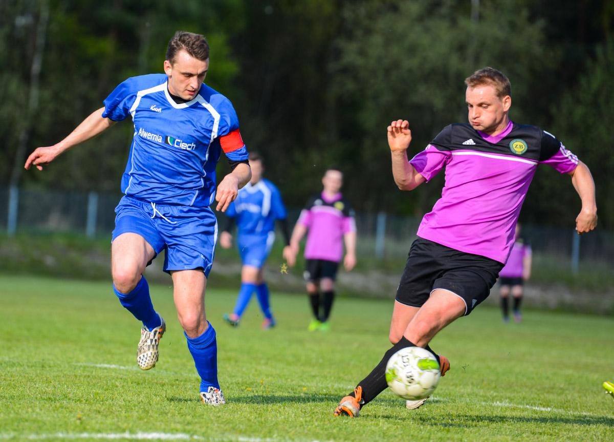 Zgoda Byczyna pokonała MZKS Alwernia 6:0.