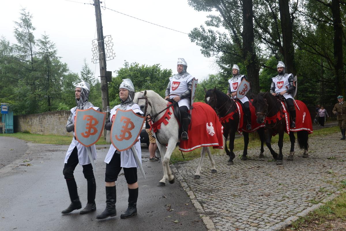 606. rocznica Bitwy pod Grunwaldem w Szczakowej.