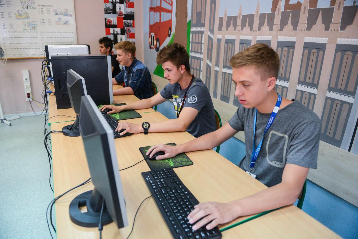 Turniej Gier Komputerowych LanParty w Gimnazjum nr 11.