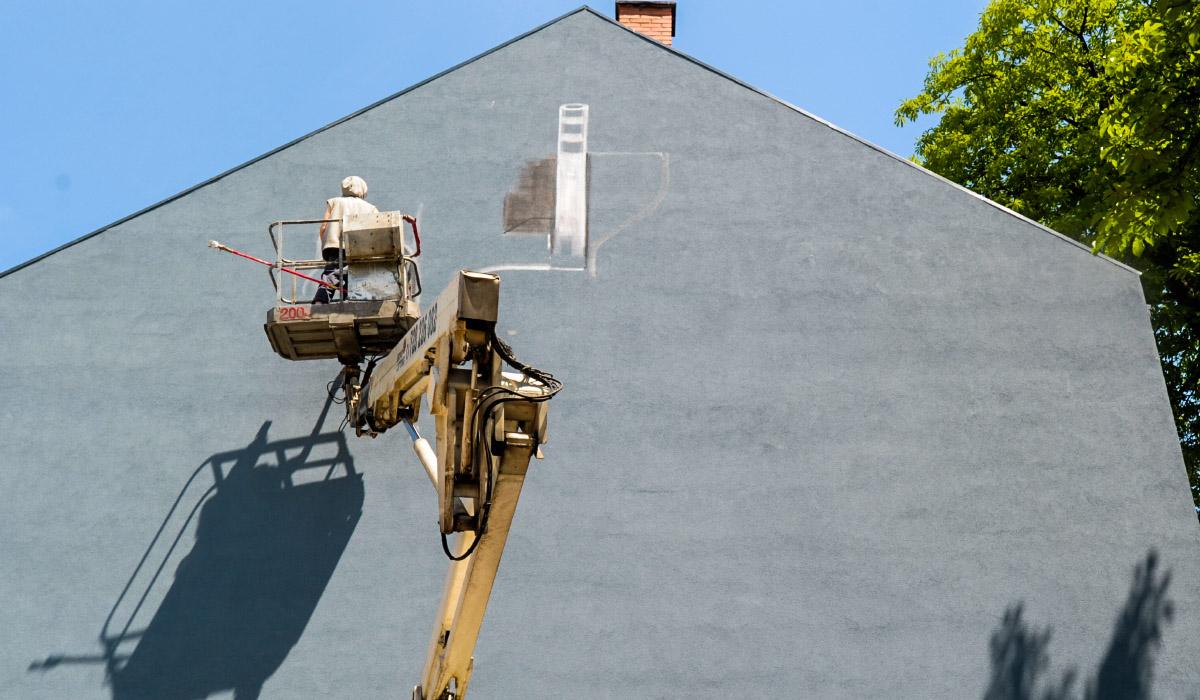 W Jaworznie powstaje kolejny mural.
