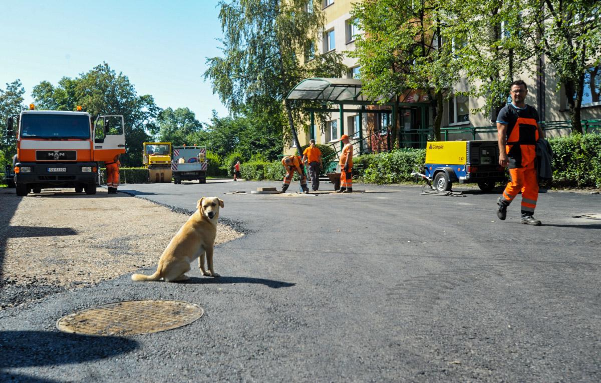 Remont parkingu przy Północnej – prace do przyszłego tygodnia.