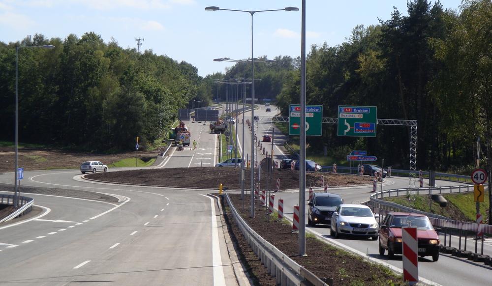 1bd222fa1084d Otwarcie rozbudowanego węzła Mysłowice na autostradzie A4 Katowice-Kraków