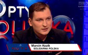 Marcin Kozik w TVP