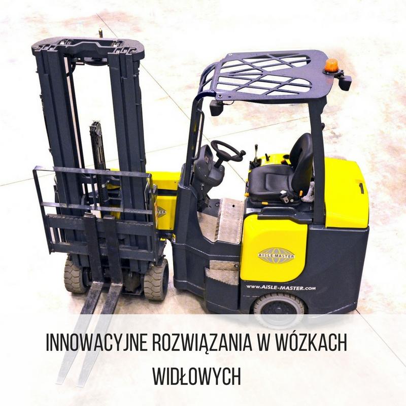 innowacyjne wózki widłowe