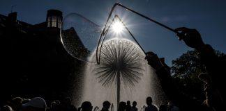 30 września. Tychy. Bubble Day, czyli Dzień Baniek Mydlanych.