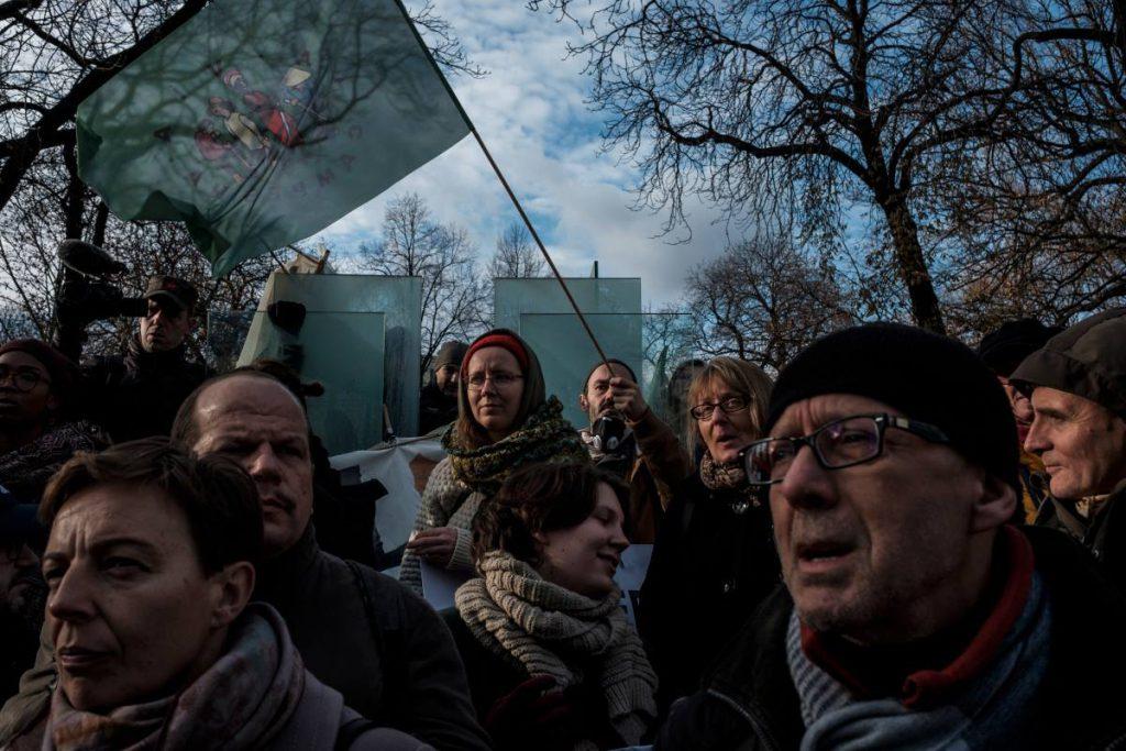 8 grudnia. Katowice. Marsz dla Klimatu podczas szczytu klimatycznego COP24.
