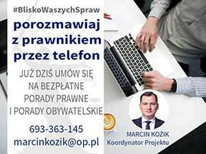 Marcin Kozik porady prawne