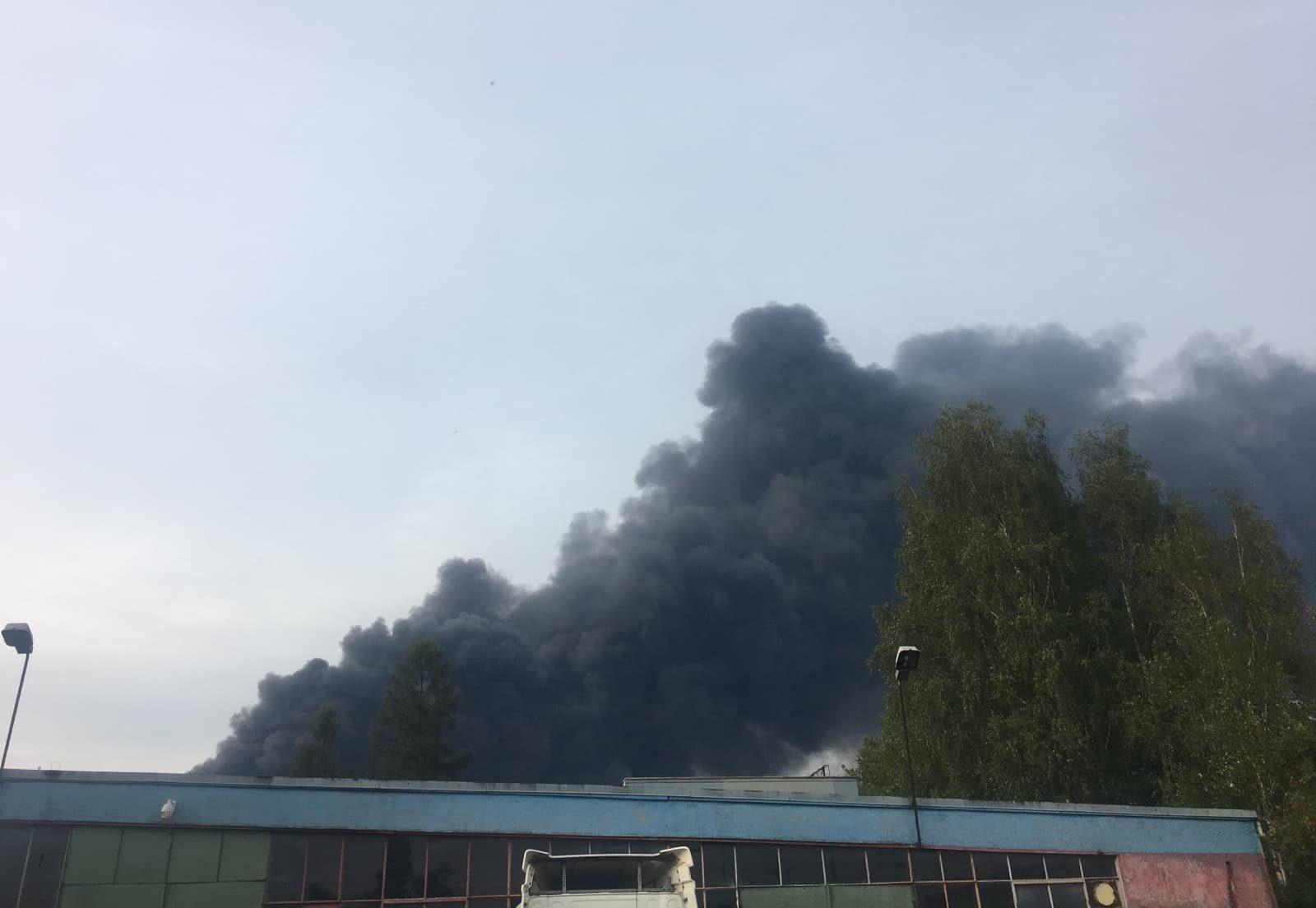 Pożar w Sosnowcu   Jaworznicki Portal Społecznościowy - jaw.pl   Jaworzno